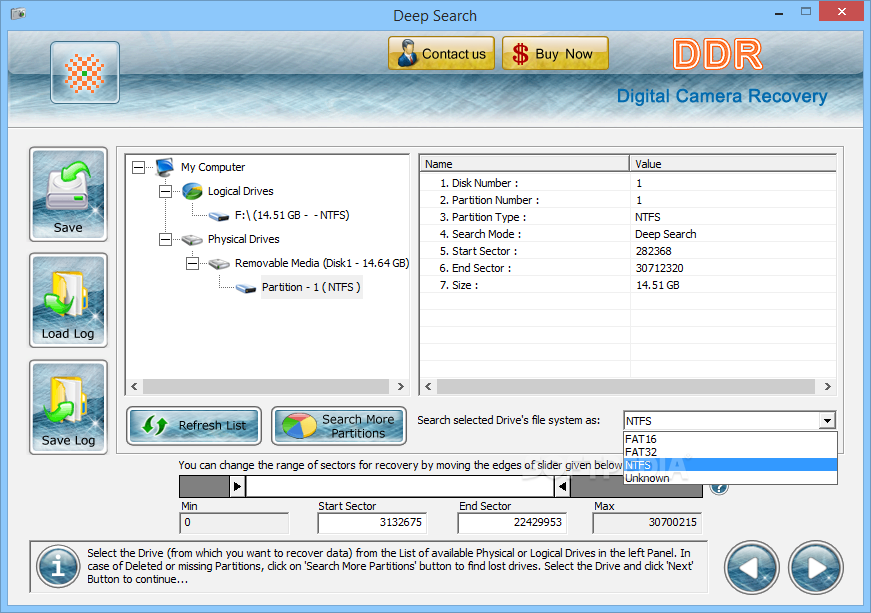 Download DDR Digital Picture Recovery latest free version