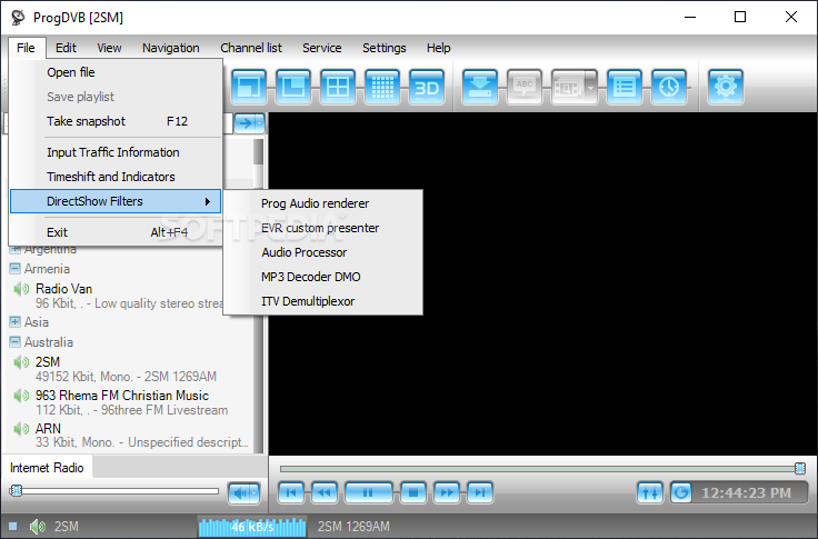 ProgDVB v7.37.8 Professional Crack Free Download For Win/Mac