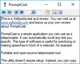 Download PromptCast Portable 1 0 0 0