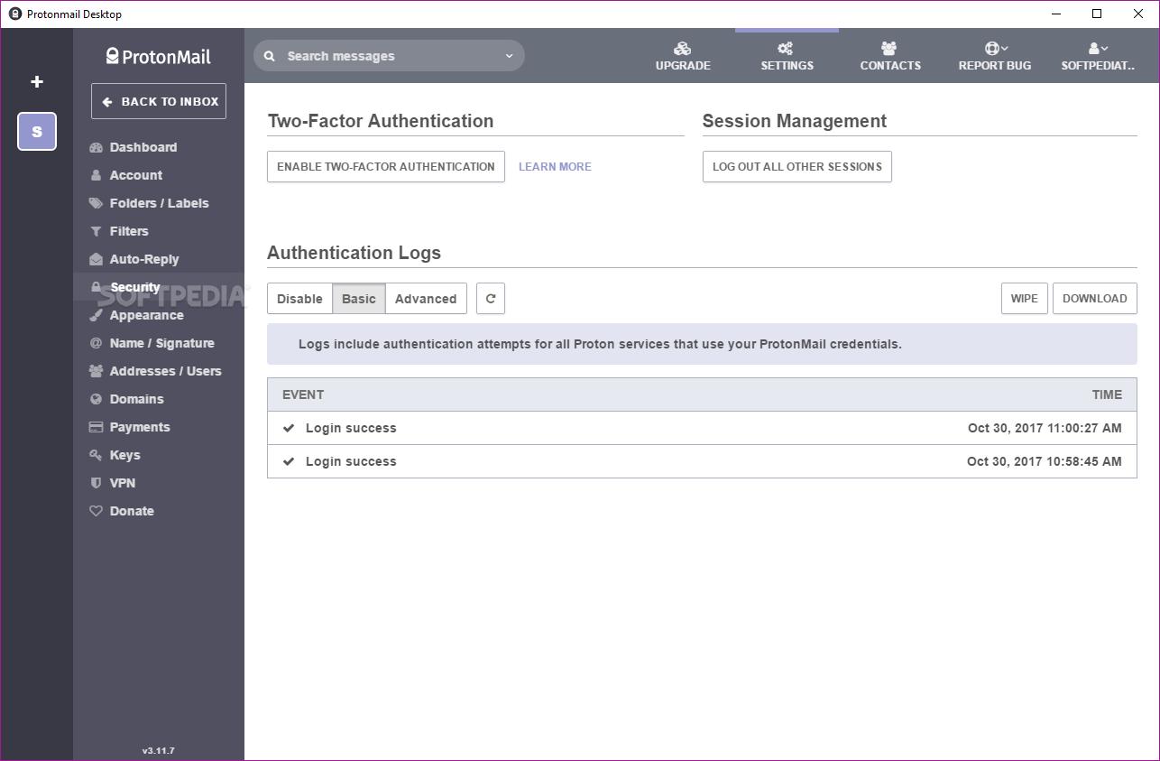 Download ProtonMail Desktop 1 0 2