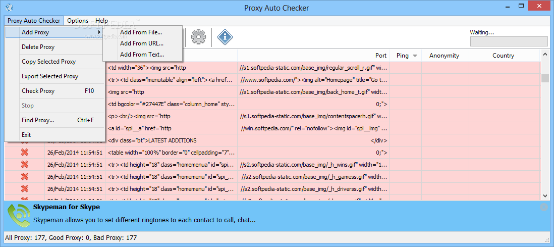 Download Proxy Auto Checker 1 1 0 18