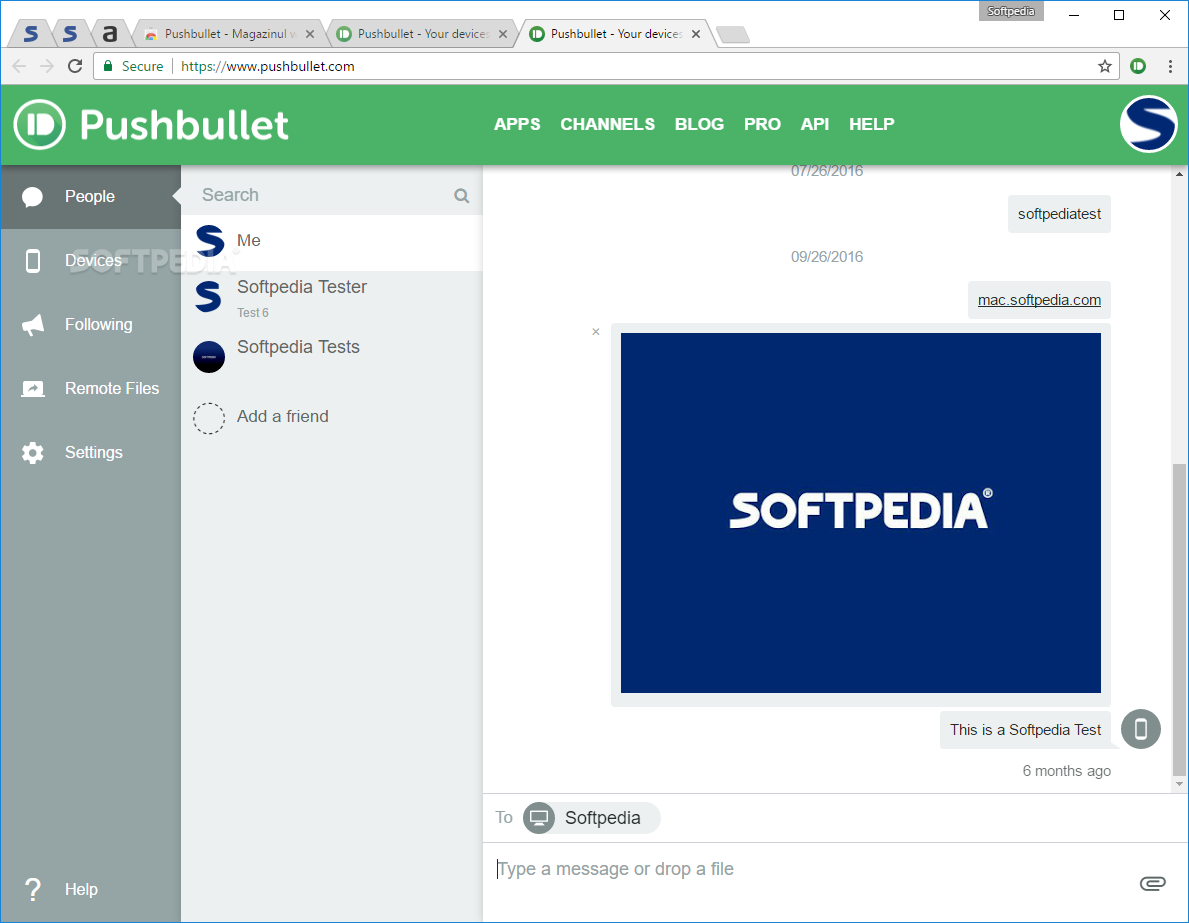 Download Pushbullet for Chrome 346