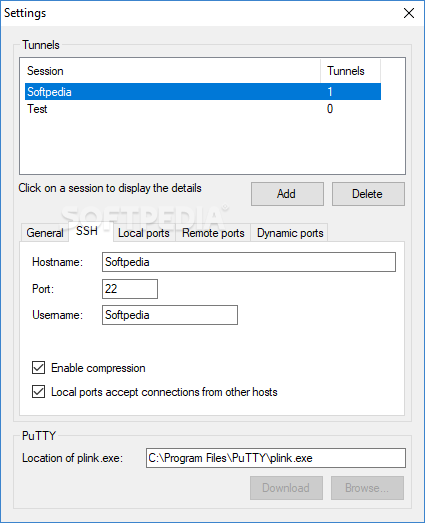 putty download manager
