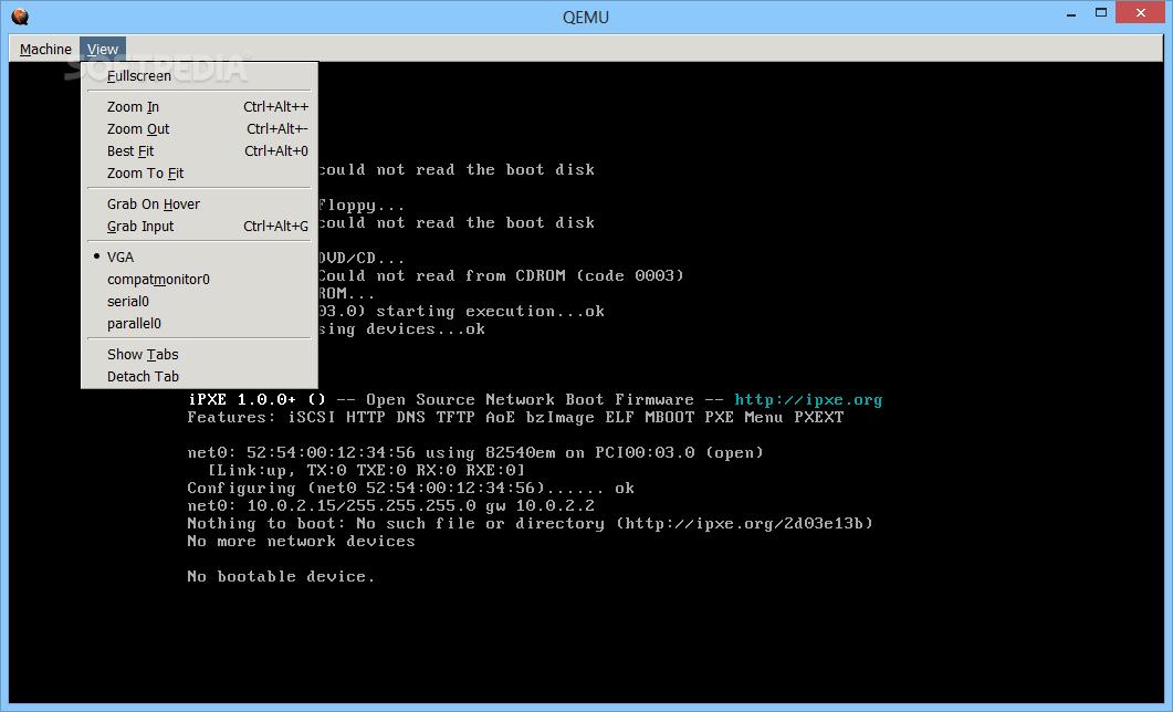 Download QEMU 4 1 0