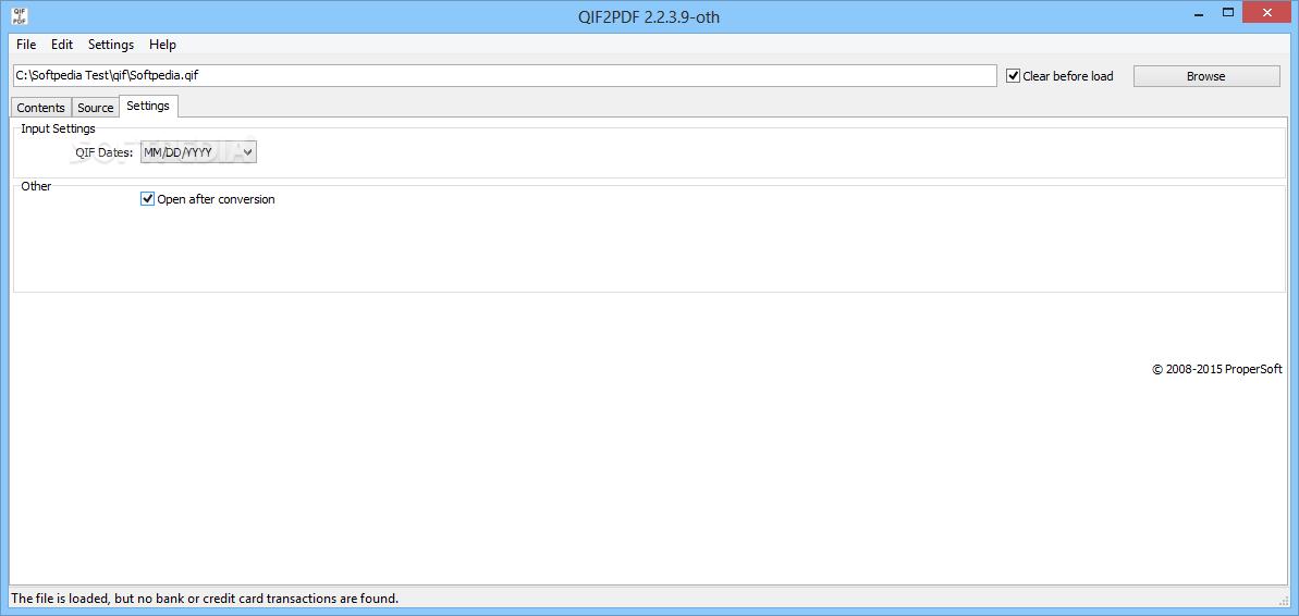 Download QIF2PDF 3 0 0 2