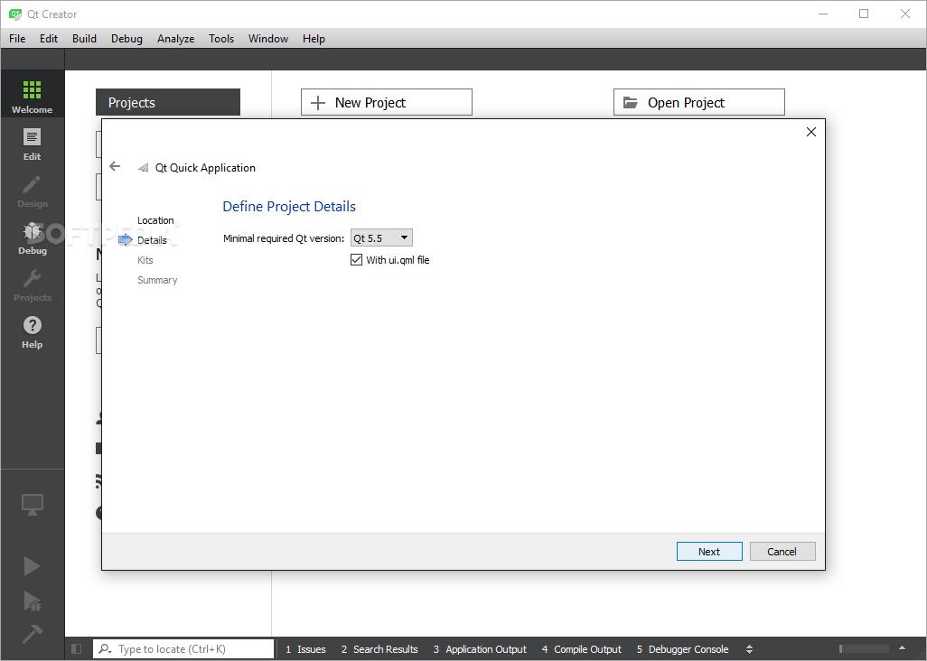 Download Qt Creator 4 10 0