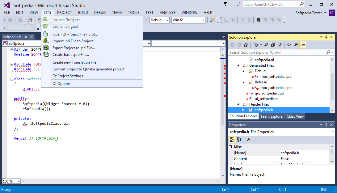 Qt project in visual studio | Qt in Visual Studio: A New