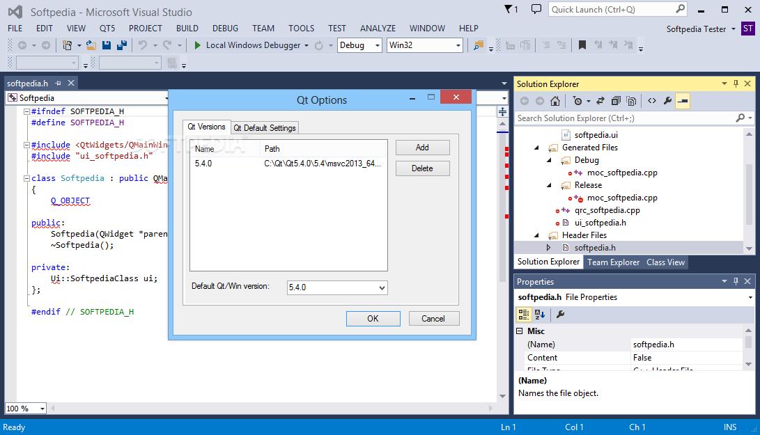 Qt Visual Studio Add In Download