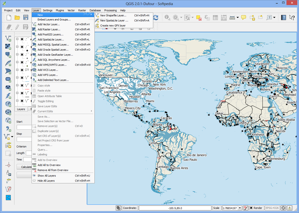 Download Quantum GIS 3 8 1