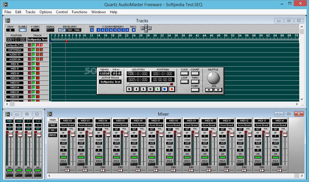 quartz audiomaster freeware