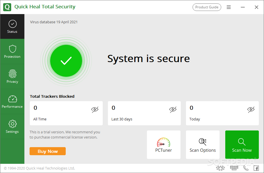 Download Quick Heal Total Security 18.00 (11.1.1.3)