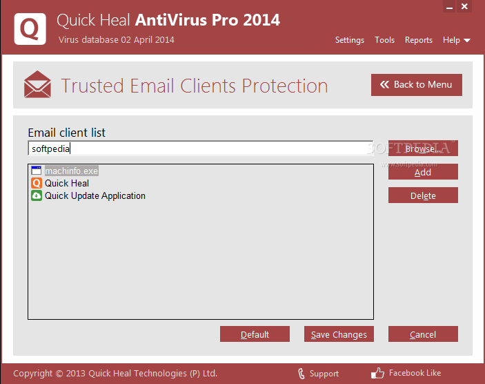 Quick Heal 13 Quick Heal Antivirus Pro 2012 13.00 (6.0.0.4) Download Last Update