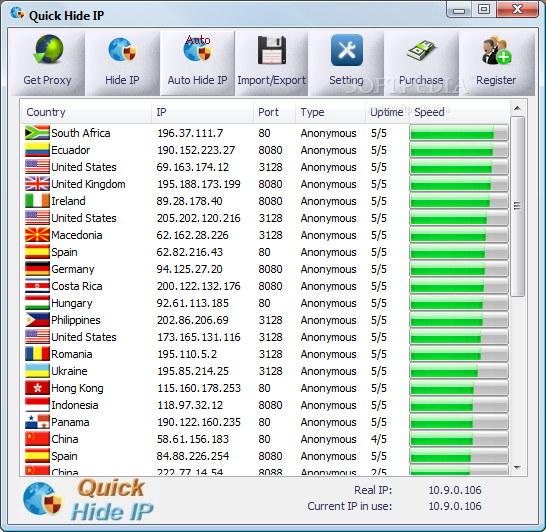Download Quick Hide IP 1.7.0