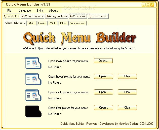 Download Quick Menu Builder 1 31