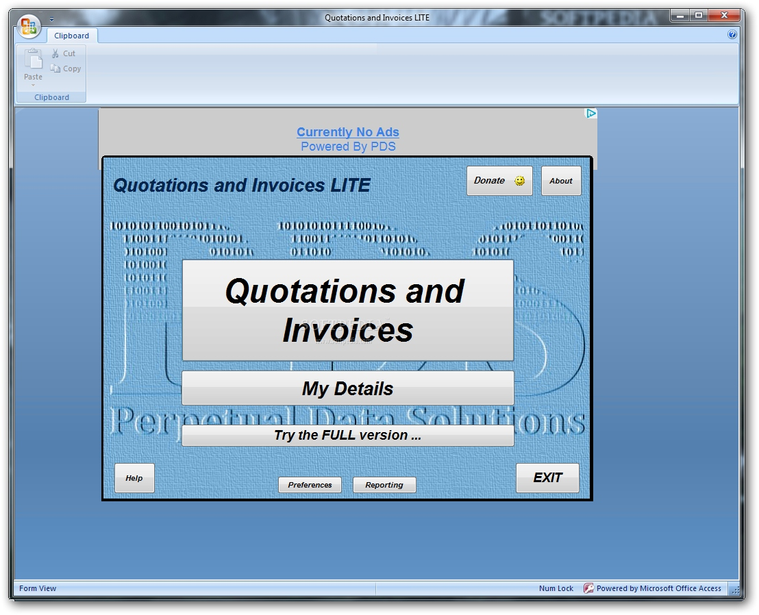 Download Quotations And Invoices LITE Build - Invoice quotation software free download