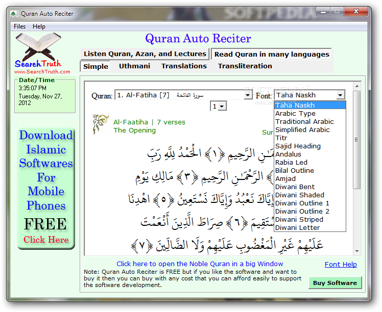 Download Quran Auto Reciter 3 3