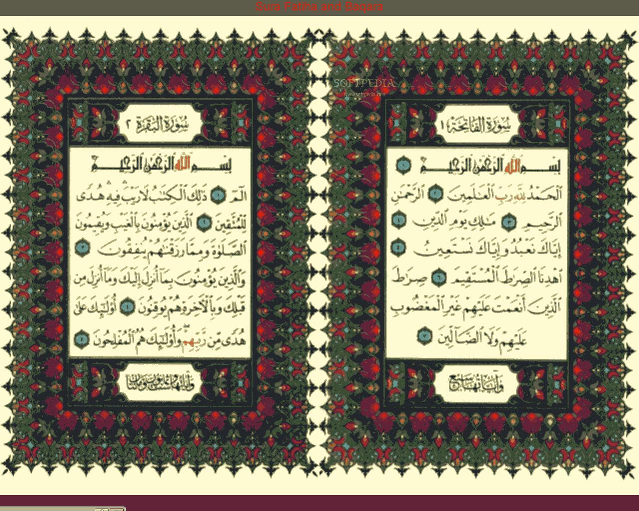 Download Quran Ayat screensaver 1 08