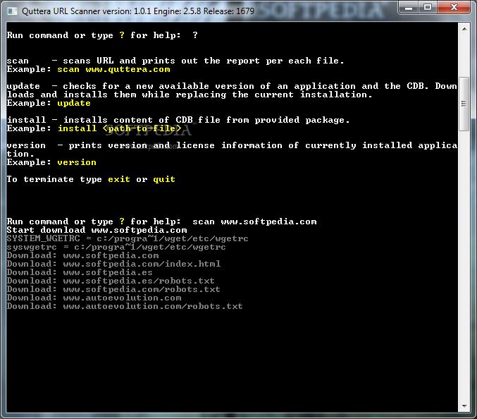 Download Quttera URL Scanner 1 0 1