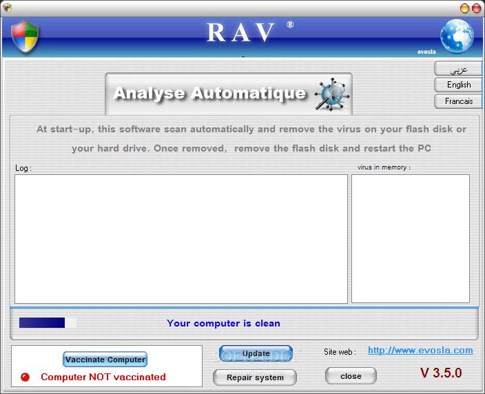 antivirus rav