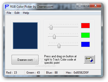 Download RGB Color Picker 1 0