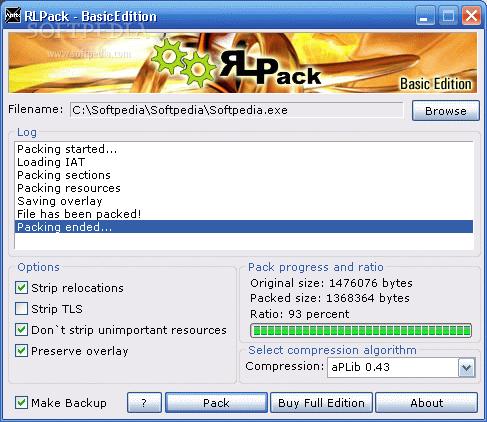 rlpack full edition 1.21