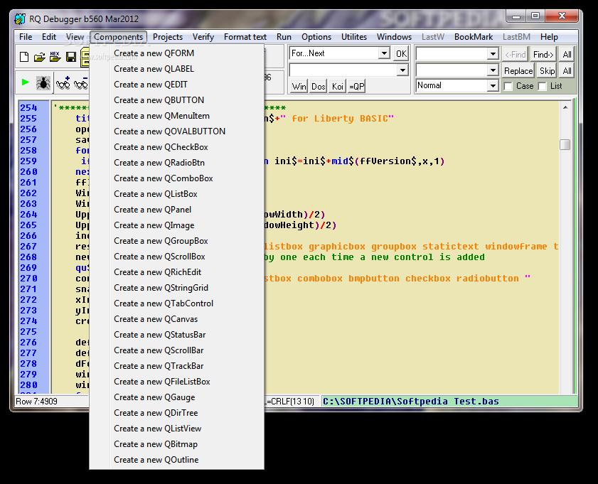 Download RQ Debugger IDE b 560