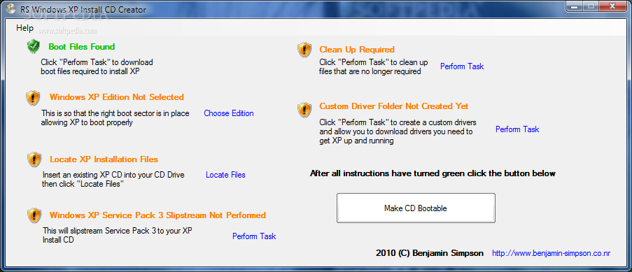 windows xp installation cd download