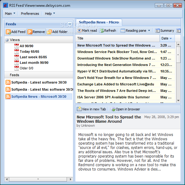 Download RSS Feed Viewer 1