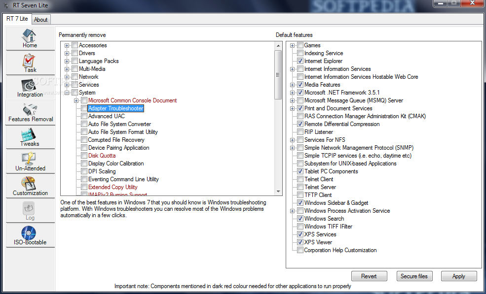 Download rt seven lite 2. 6. 0 beta.