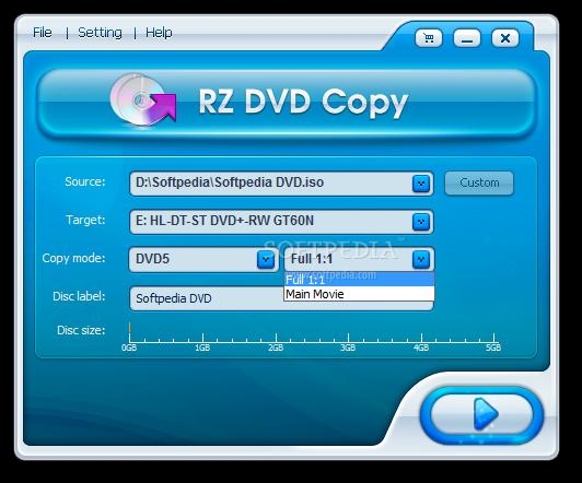 Download RZ DVD COPY 5 0 0 19