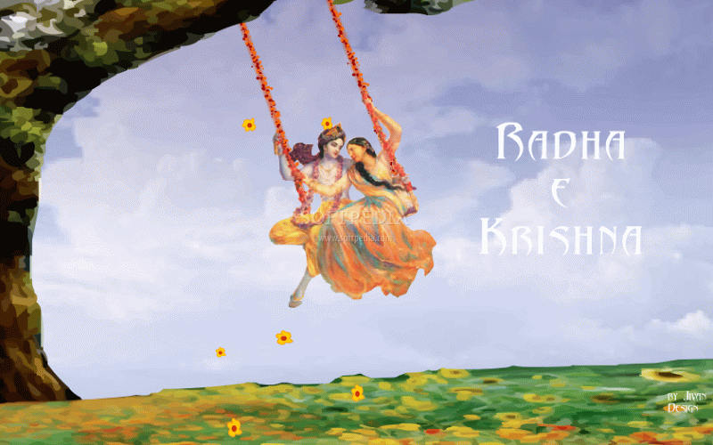 Download Radha-Krishna Screensaver 1 0