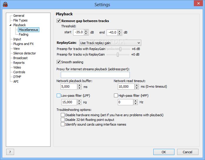 Download RadioBOSS 5.8.1 ... RadioBOSS - screenshot #12 ...