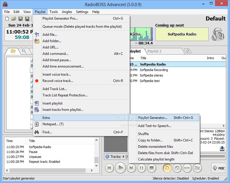 Download RadioBOSS 5.8.1 ... RadioBOSS - screenshot #6 ...