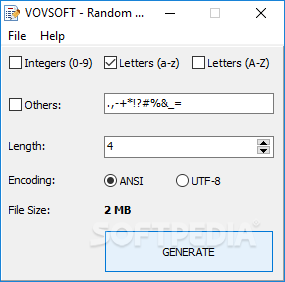 Download Random Wordlist Generator 1 0