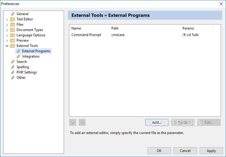 Download DzSoft PHP Editor 4.2.7.8