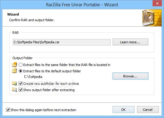 Download RarZilla Free Unrar Portable 3 33