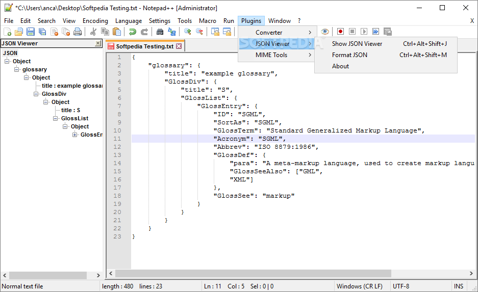 Download JSON Viewer 1 34