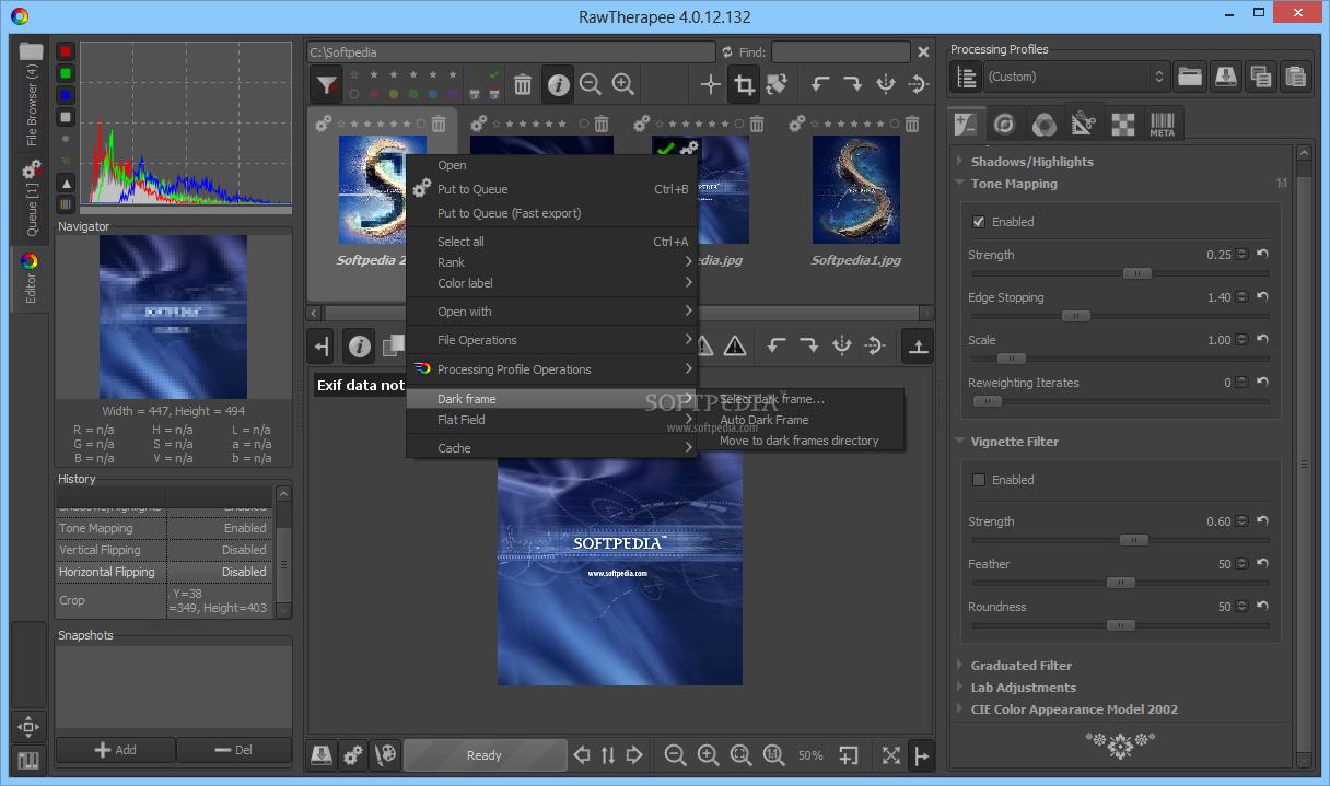 Download RawTherapee 5.5 ... RawTherapee - screenshot #5 ...