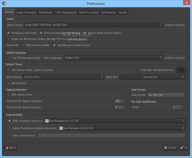 Download RawTherapee 5.5 ... RawTherapee - screenshot #7 ...