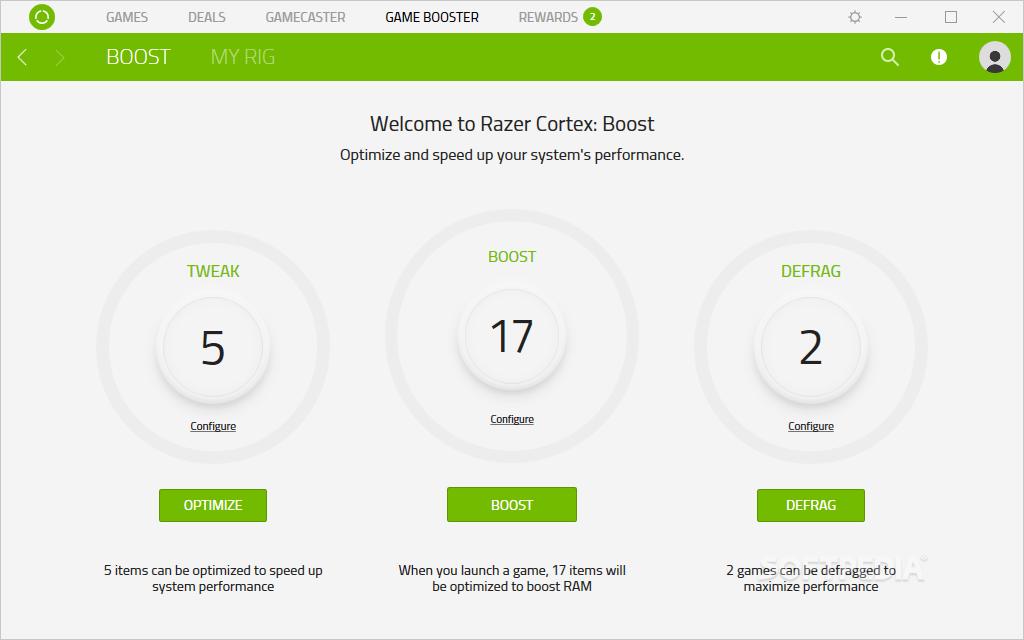 Download Razer Cortex 9 5 6 Build 1016