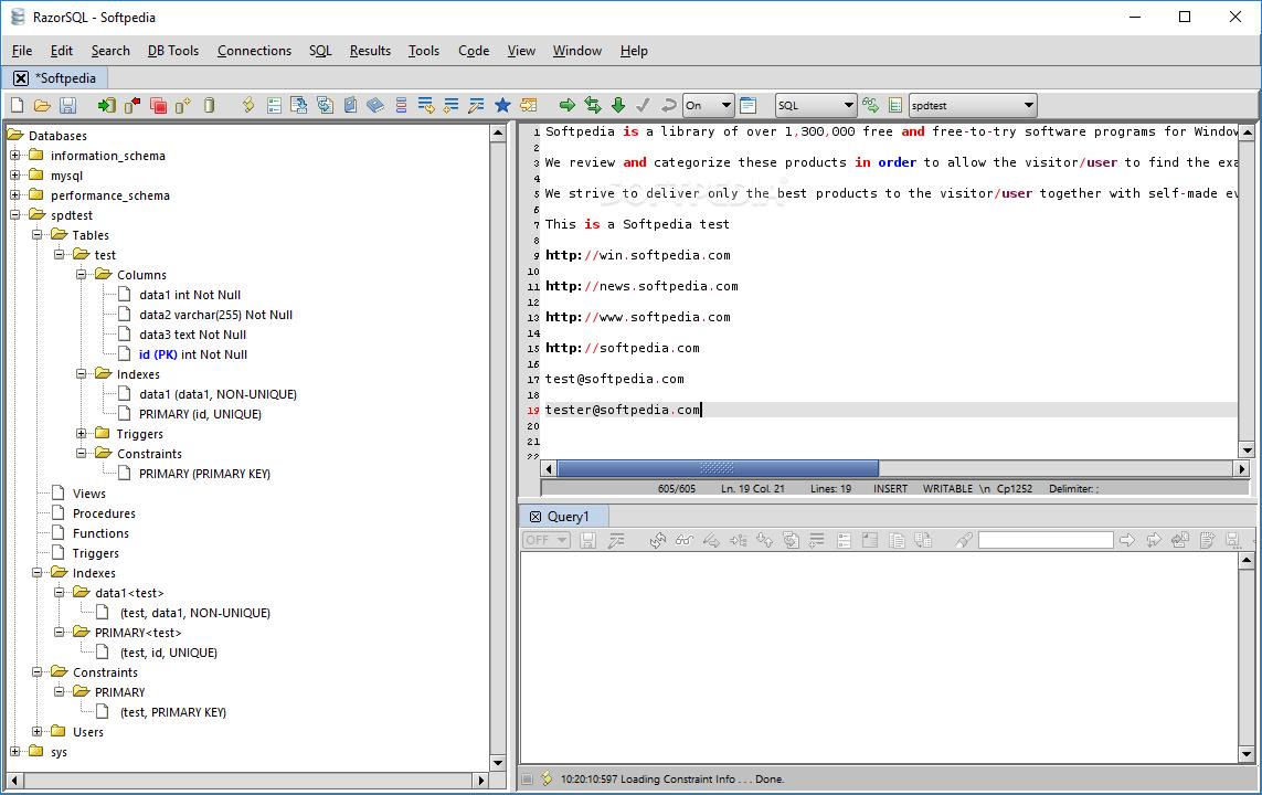 RazorSQL 9.0 Cracked Activation Here Code
