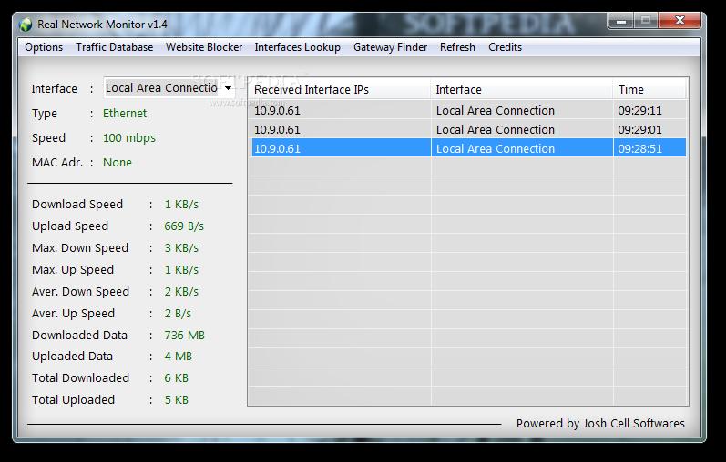 upload download monitor