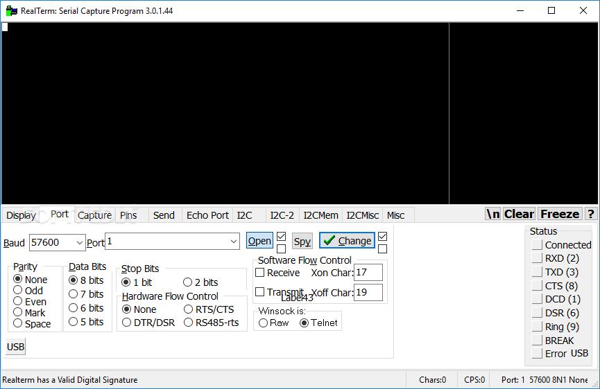 Download RealTerm 2 0 0 70 / 3 0 1 45 Beta 2