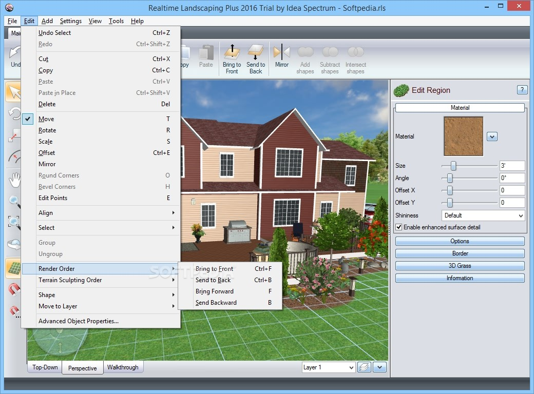 22 wonderful landscape design software free linux for Landscape design software