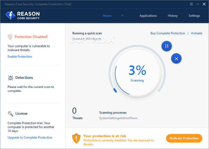 Download Reason Core Security 3 2 0 4