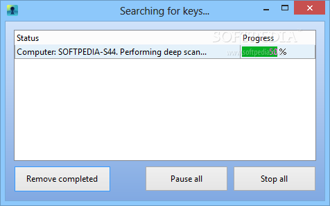 recover keys 9.0.3.168 serial number