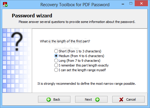 how to get pdf password