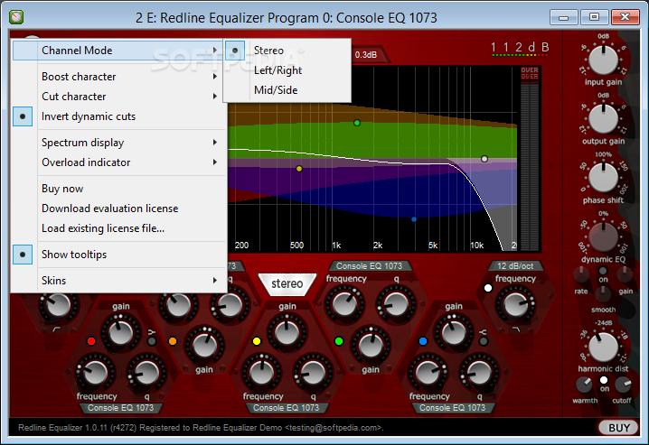 112db redline equalizer download