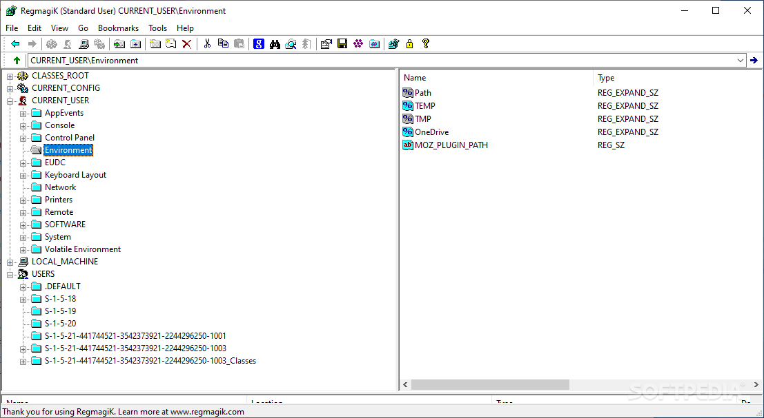 Download RegMagiK Registry Editor 4 10 3