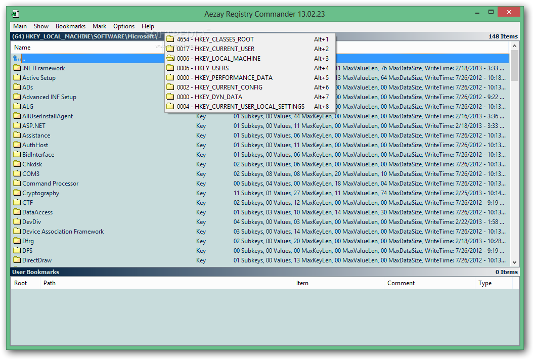 Download Aezay Registry Commander 15.02.15 Aezay Registry Commander - Aezay Registry Commander will provide users with  a replacement for the registry ...